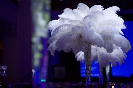 Feathered centerpieces