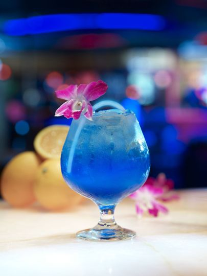 Blue cocktail mix