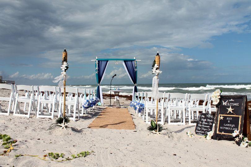 Beach wedding Melbourne Florid