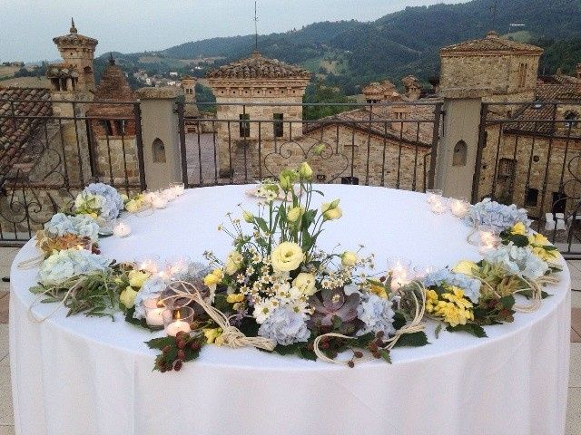A medieval village for a romantic wedding in Italy