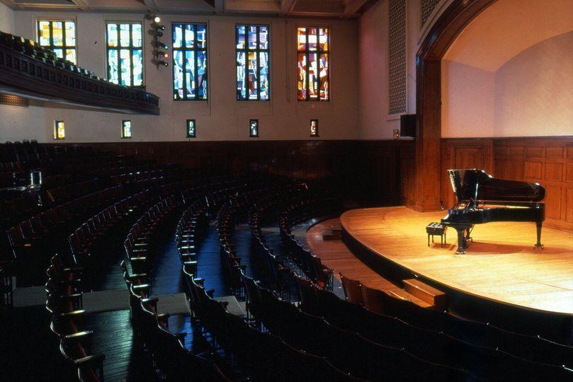 Sheldon Concert Hall ambiance