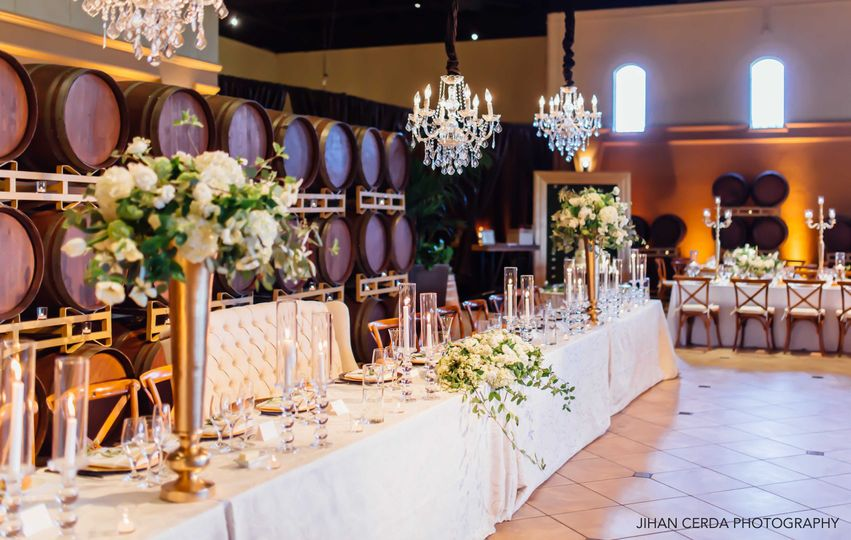 Table arrangements - jihan cerda photography