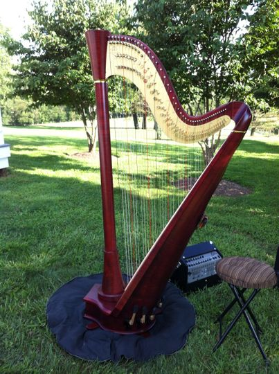 Harp outdoors
