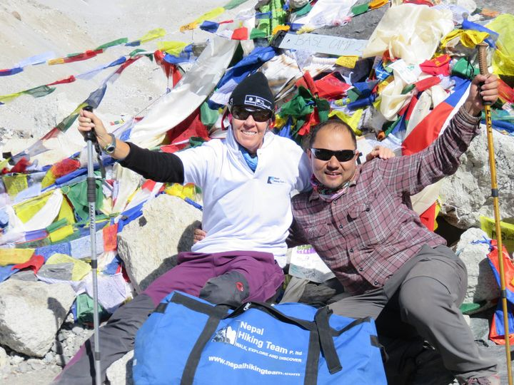 everest base camp with travel writer fiona and ceo