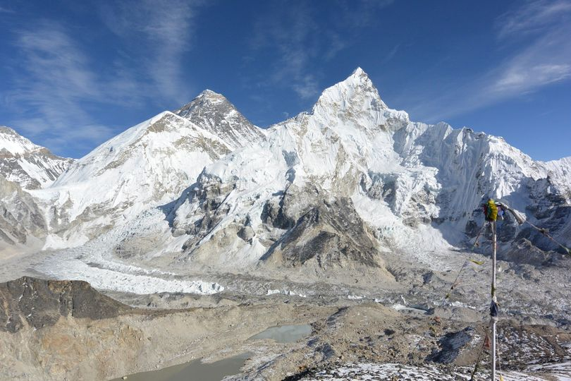 everest seen from kalapathar