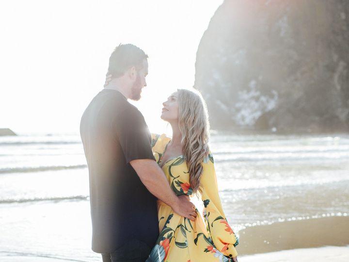 Tmx 1502414835442 Cannon Beach Engagement 5 Lundynbridge.com Oregon City, OR wedding photography