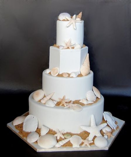 Modern wedding cakes for the holiday: Fake wedding cake rental nyc