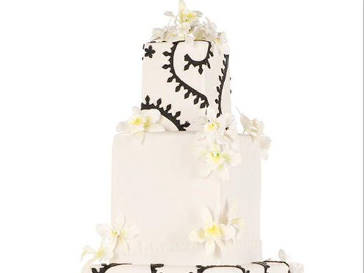 Tmx 1264022242297 ModernOrchid New York wedding cake