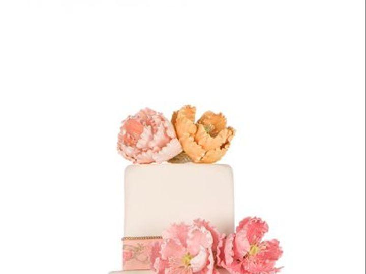Tmx 1264022480563 PinkPeonies New York wedding cake