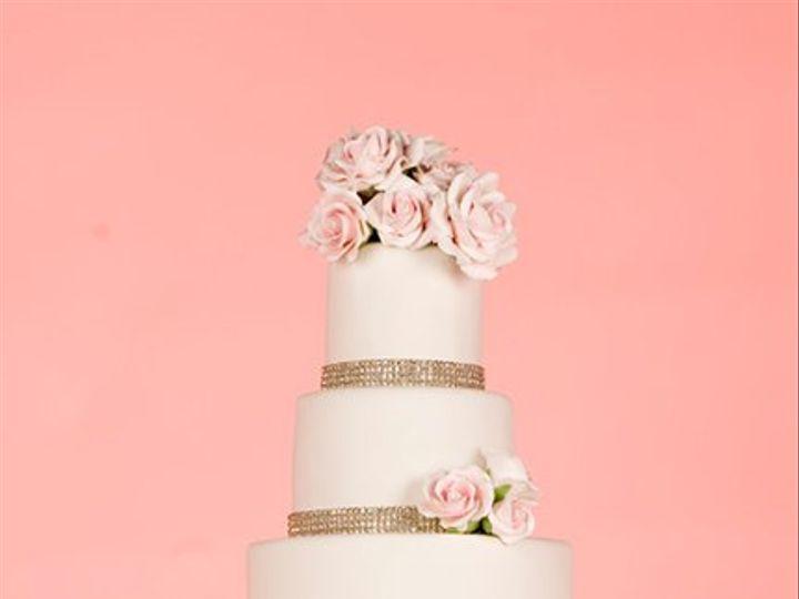 Tmx 1264023328438 RoseSparkle New York wedding cake
