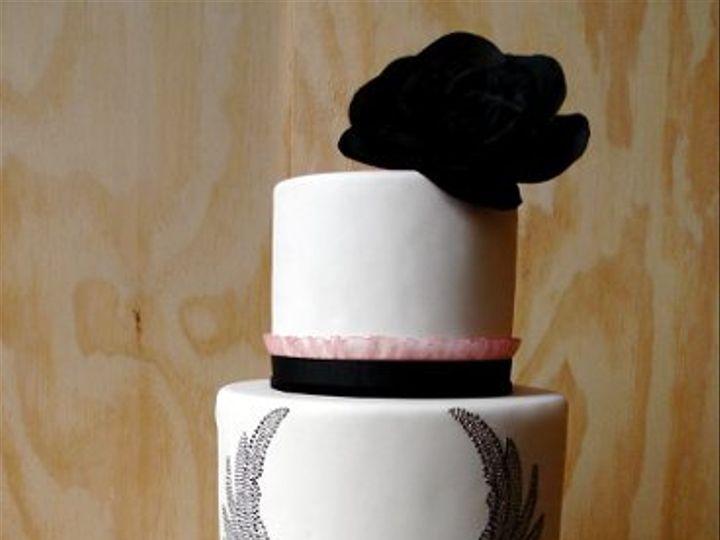 Tmx 1297972103765 WingedHeartFakeWeddingCake New York wedding cake