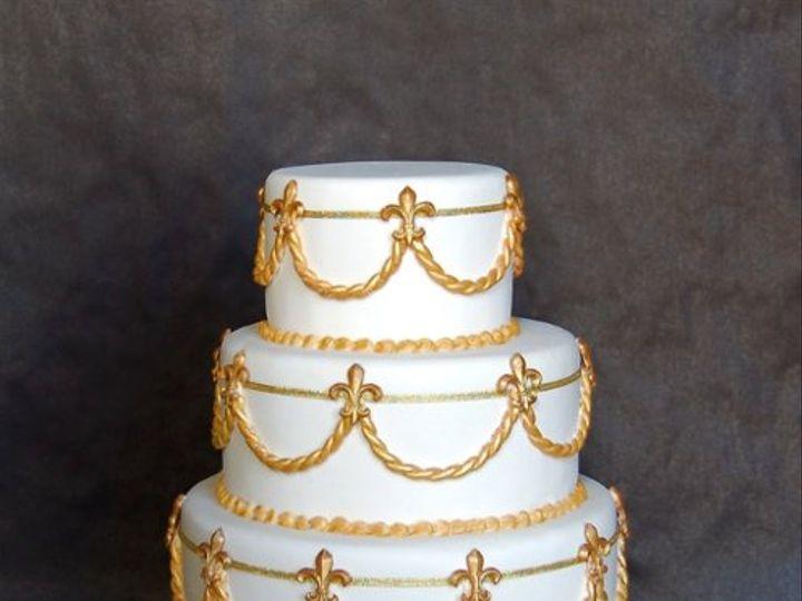 Tmx 1297972456062 FleurdiLysFakeWeddingCake New York wedding cake