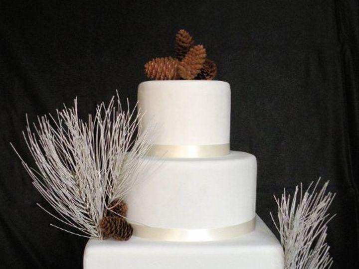 Tmx 1297972661046 WhitePineFakeWeddingCake New York wedding cake