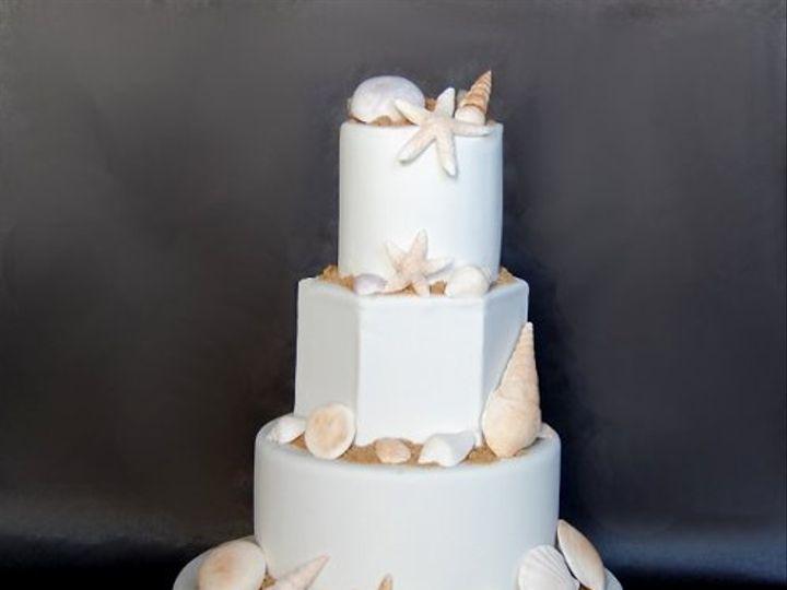 Tmx 1297973207656 SeaShellsFakeWeddingCake New York wedding cake