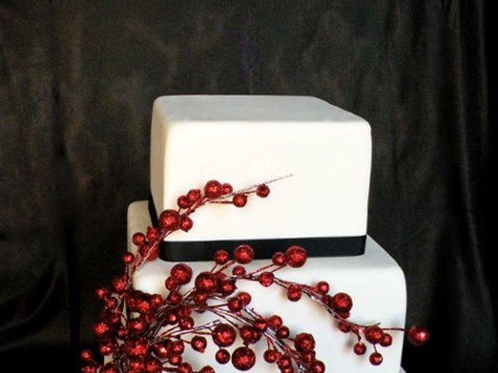 Tmx 1297974404078 HolyBerryFakeWeddingCake New York wedding cake