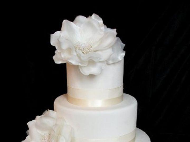 Tmx 1297974506687 ClaasicWhiteFakeWeddingCake New York wedding cake