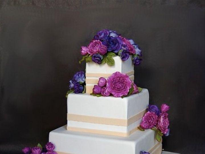 Tmx 1297974814859 RoseGardeniaWeddingCakeRental New York wedding cake
