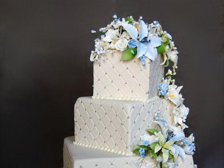 Tmx 1297974880156 FlowerCasadeWeddingCakeRental New York wedding cake