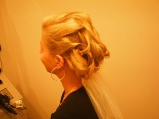 Slightly complicated hair style