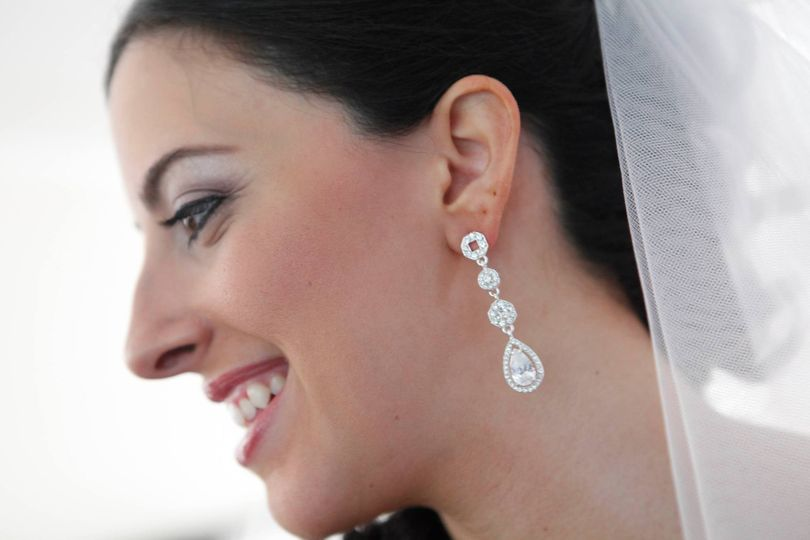A happy bride
