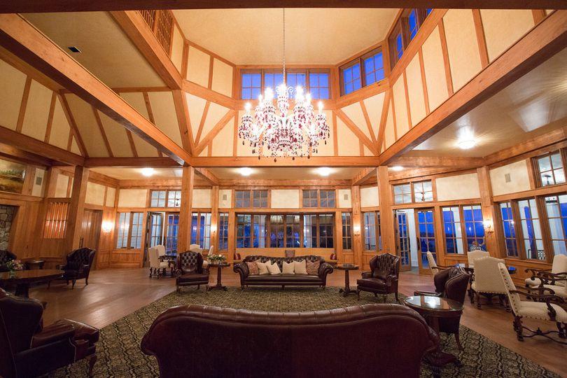 Trump Winery's vintage hall