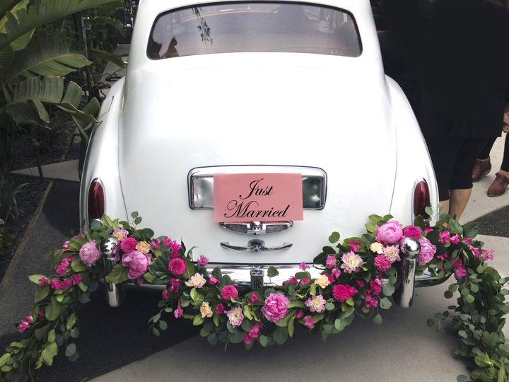 Tmx 1434182562526 Just Married With Flower Garland 2 Tarzana, California wedding transportation