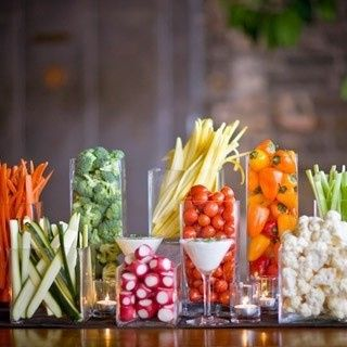 Tmx 1425482033717 Vegetable Tray Tall Glass Deconstructed Naperville, IL wedding catering