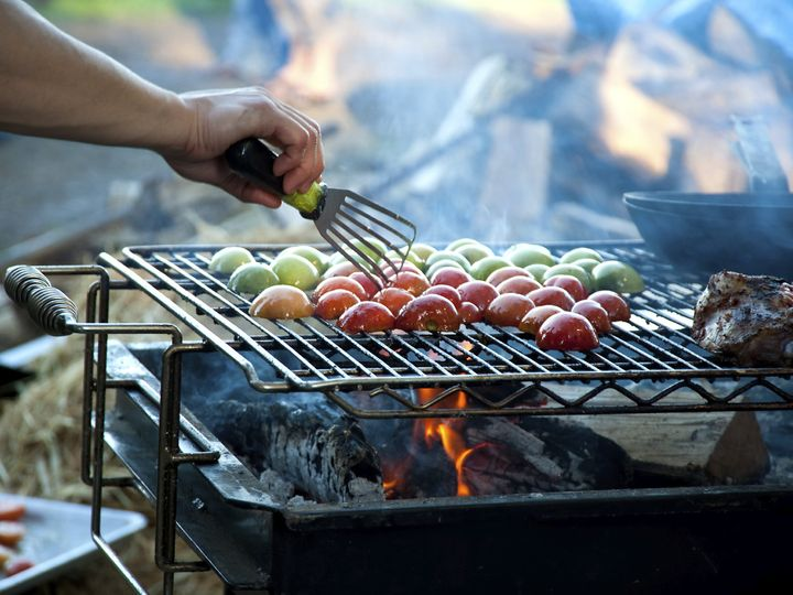 Tmx 1425482261876 Grill Chef Vegetables 000011082867medium Naperville, IL wedding catering