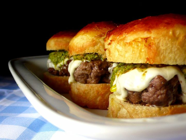 Tmx 1425482300965 Mini Burgers On White Platter Naperville, IL wedding catering