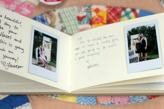 polaroid guest book