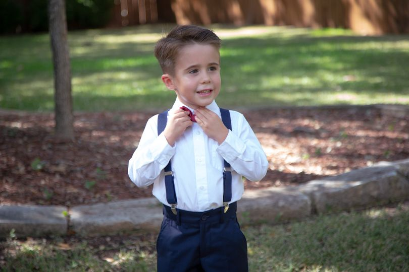 Ring Bearer Texas Old Town