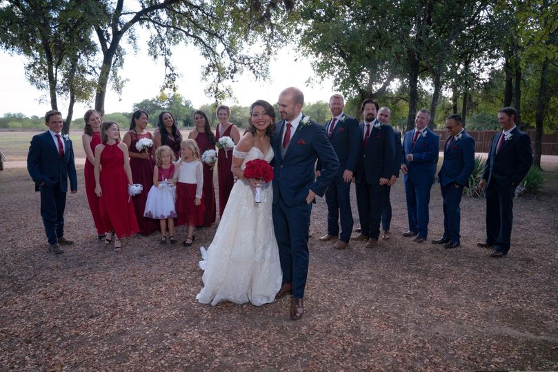 Wedding Party Texas Old Town