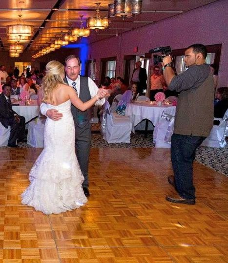 Shooting a Wedding