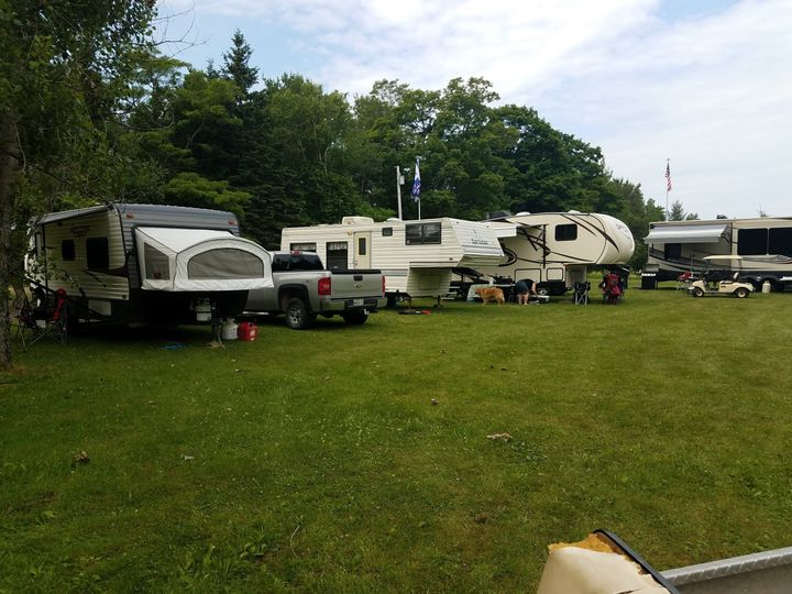 Area for campers