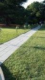 walkway stone manor