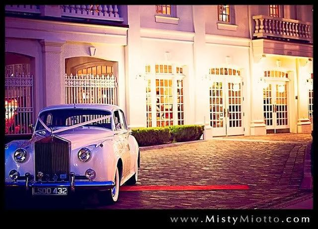 Our 1957 Rolls-Royce Silver Cloud staged for exit. Photo Credit: Misty Miotto Photography