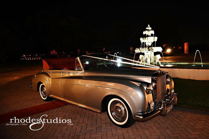 Convertible Rolls Royce