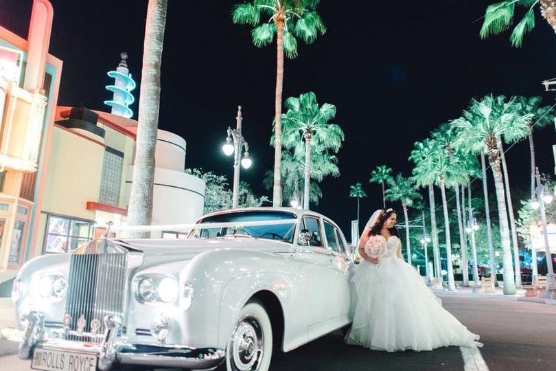 WDW VIP Wedding Rolls-Royce