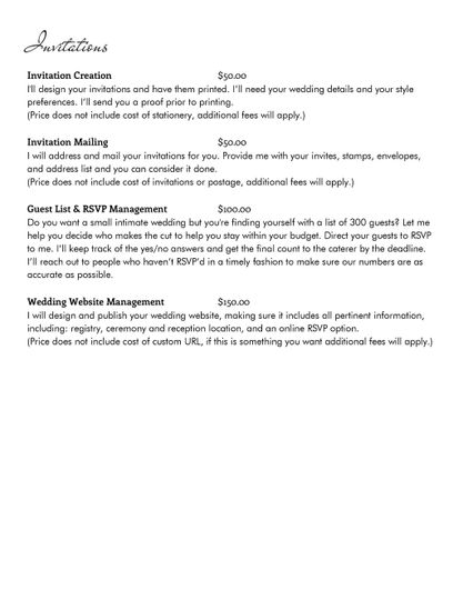 Services page 2