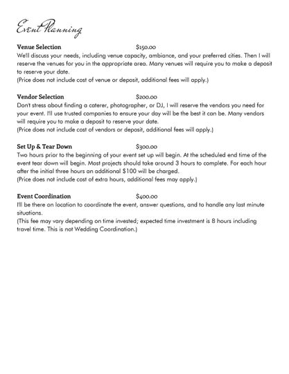 Services page 3