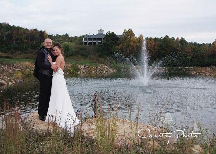wedding pond