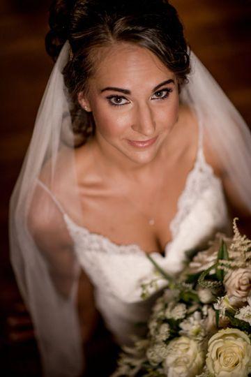 """Bride ready to say """"I do"""""""