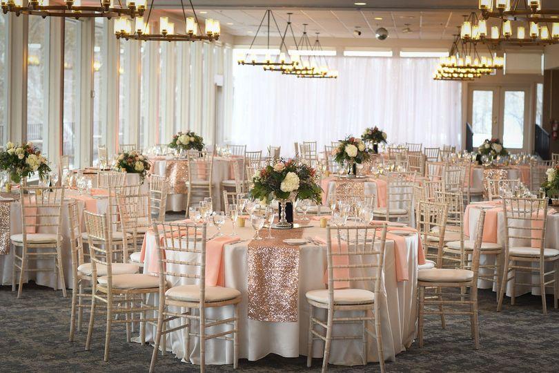 Reception tables | Photographer: Eric Stocklin