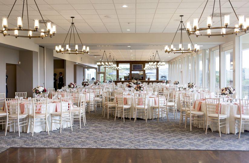 Reception hall | Lauren Fisher Photography