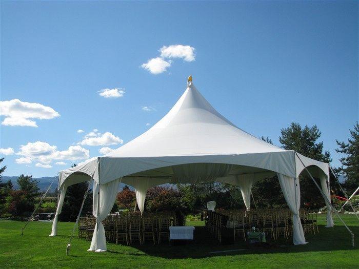 x 40 hexagonal marquee tent
