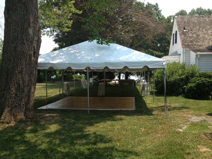 20x40 20x20 frame tents with dance floor