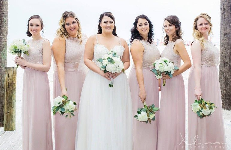 Pink gowns