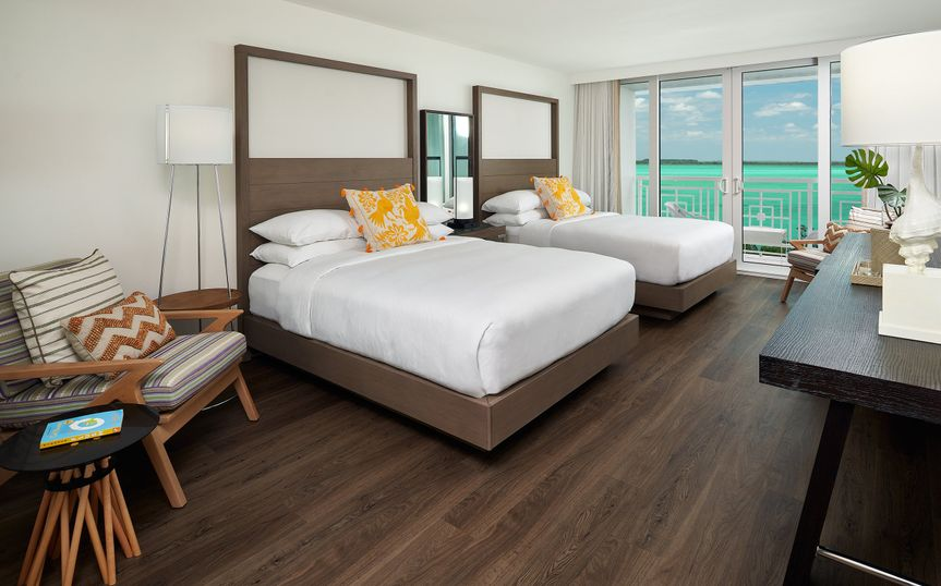 Two Queen Waterfront Room