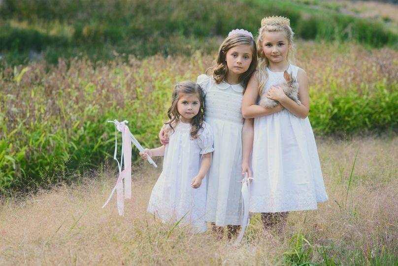 three girls small