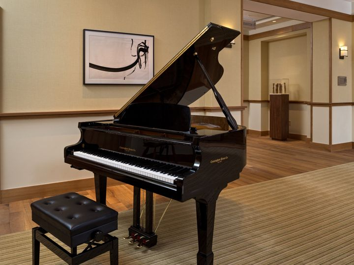 Tmx 1469468598879 Inn At Swarthmore   Common Area   Piano   Copy Swarthmore, Pennsylvania wedding venue